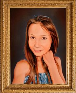 Портрет по фотографии маслом