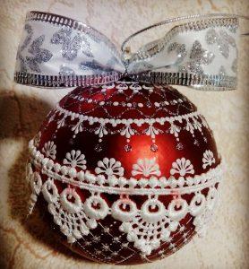 Мастер-класс «Роспись новогодних шаров»