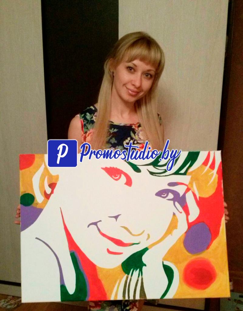 ФЛИП ФЛОП ПОРТРЕТ- портрет по фото